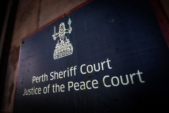 McPhee appeared at Perth Sheriff Court