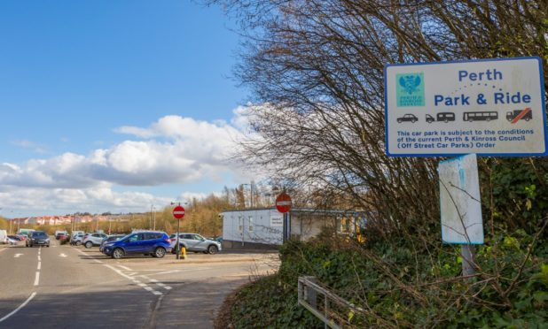 Broxden Park and Ride