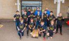 Kirkcaldy footballers NHS donation