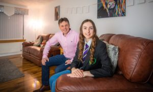 Levenmouth Academy parent council leader Phil Grant is delighted daughter Rhiannon, 14, and her peers can return to school from March 15.