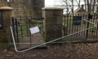 Police are investigating vandalism to St Bridget's Kirk in Dalgety Bay and Aberdour Castle.