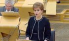 Nicola Sturgeon has set out the next steps for the exit from lockdown.