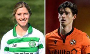 Celtic Women's player Sarah Teegarden and Dundee United midfielder Ian Harkes are a couple.
