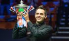 Exclusive Mandatory Credit: Photo by Benjamin Mole/WST/Shutterstock (10745996f) Ronnie O'Sullivan wins the 2020 Snooker World Championship Exclusive - Betfred World Snooker Championship Final, Day Seventeen, Crucible Theatre, Sheffield, UK - 16 Aug 2020
