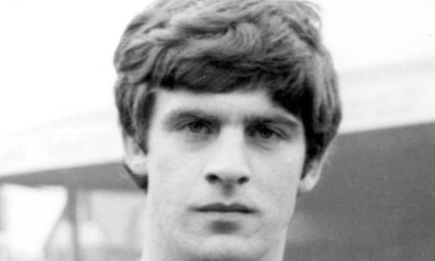 A young Peter Lorimer starting out at Leeds.
