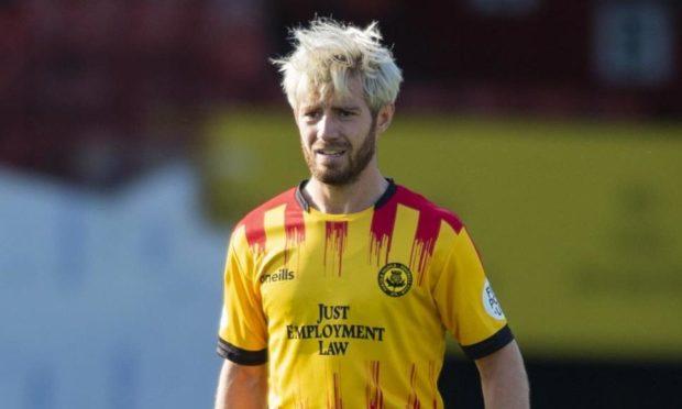 Partick Thistle midfielder Ross Docherty.