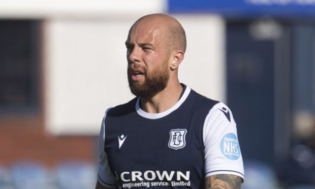 DUNDEE, SCOTLAND - SEPTEMBER 26: Jordon Forster during the pre-season friendly match between Dundee and Cove Rangers at Dens Park Stadium on September 26, in Dundee, Scotland. (Photo by Craig Foy / SNS Group)