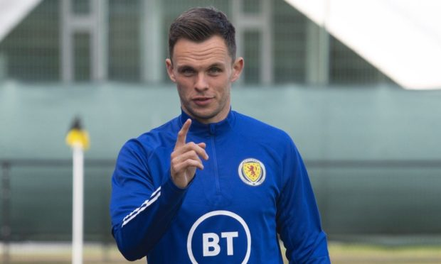 Billy Dodds has given Dundee United striker Lawrence Shankland (above) advice on how he can get back in the Scotland squad.