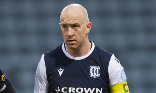 Dundee captain Charlie Adam.