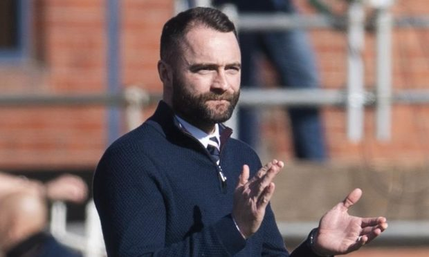Dundee boss James McPake.