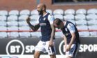 Liam Fontaine celebrates his goal.