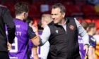 Dundee United boss Micky Mellon will not be taking his eye off the ball as Ross County call in at Tannadice.
