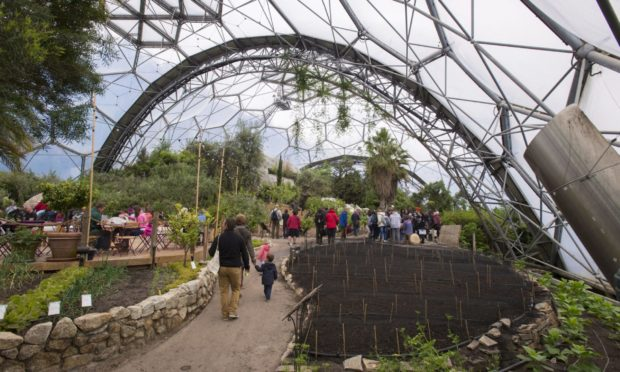 The Eden Project has boosted Cornwall's coffers by £2bn.