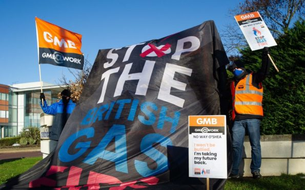 Workers at British Gas have been engaged in dispute over the changes