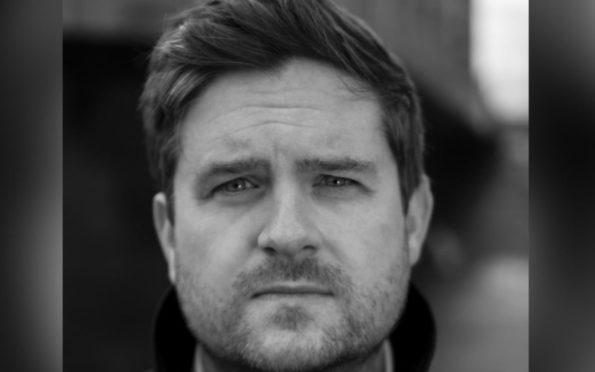 Fife author Alan Gillespie
