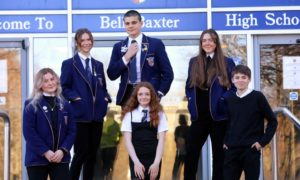 It's been over 100 days since the corridors of Bell Baxter High School were last filled with the chatter and laughter of pupils.