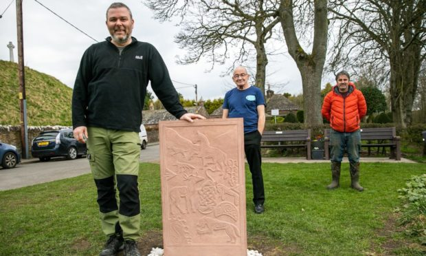 St Vigeans Pictish stone