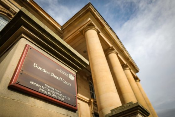Dodds appeared at Dundee Sheriff Court