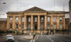 Chalmers is on trial at Dundee Sheriff Court