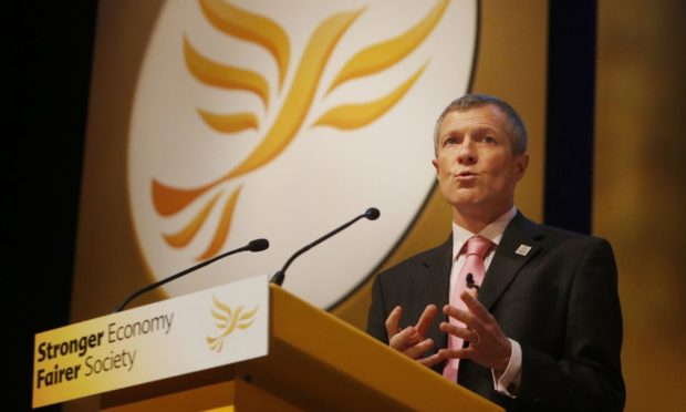 Leader of the Scottish Liberal Democrats Willie Rennie addresses the Liberal Democrats' autumn conference at The Clyde Auditorium in Glasgow, Scotland. PRESS ASSOCIATION Photo. Picture date: Sunday September 15, 2013. See PA story LIBDEMS Stories. Photo credit should read: Danny Lawson/PA Wire