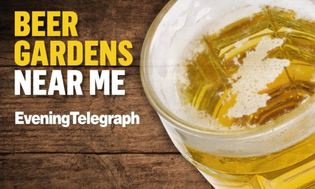 Click the interactive map to find out where your local beer garden is.