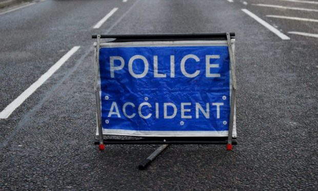Police closed the A90 Ellon to Blackdog road, near Tipperty, following the crash