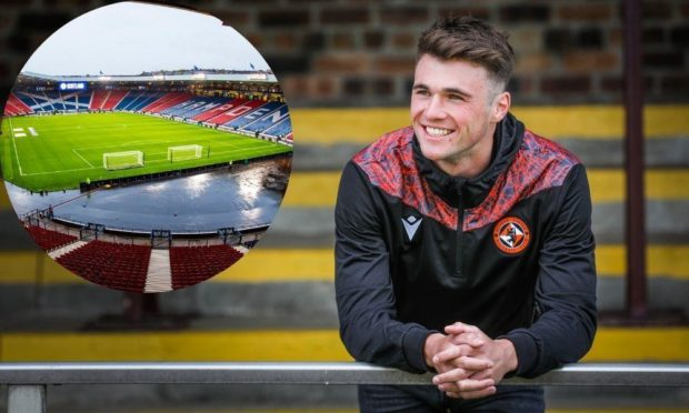 Dundee United defender Jamie Robson is dreaming of Hampden.