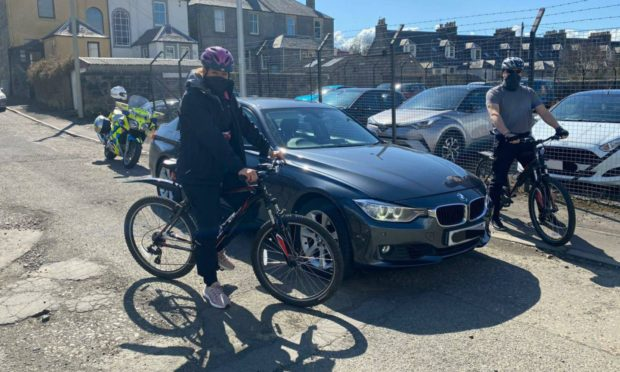 Fife cyclist safety campaign