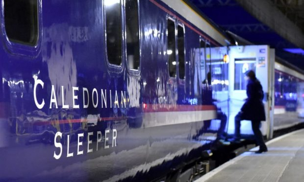 The Caledonian Sleeper.