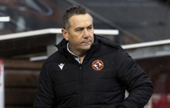 Micky Mellon's time at Tannadice has come to an end.