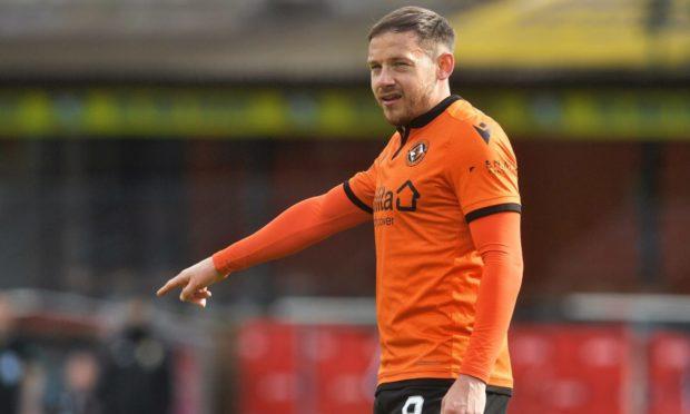 Dundee United midfielder Peter Pawlett.