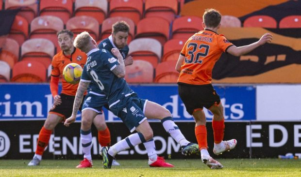 Dundee United youngster Archie Meekison scored a goal of supreme quality against Motherwell.
