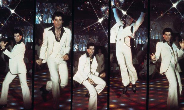 John Travolta in Saturday Night Fever. Photo by Paramount/Kobal/REX/Shutterstock