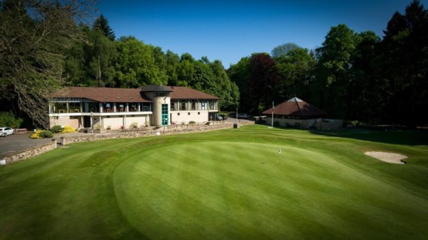 The club suffered damage to the 16th green in the latest in a spate of vandalism.