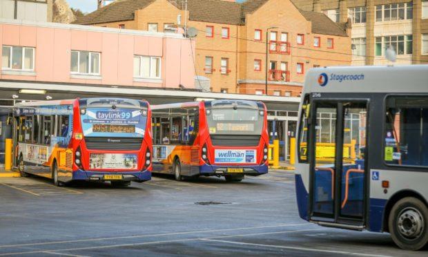 Racist Dundee bus attack