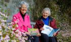 Members of Friends of the University of Dundee Botanic Garden Jan Williamson and Tricia Paton.