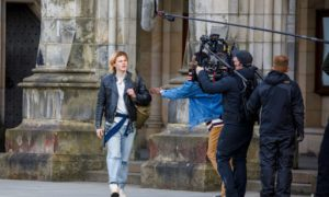 Filming of a new major crime drama set in St Andrews is taking place.