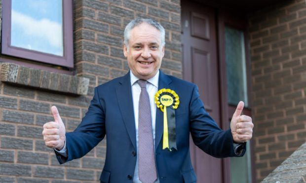 Richard Lochhead was returned as SNP MSP in Moray while self-isolating at home.