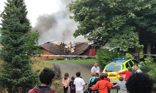 Mill O'Mains primary school could get a £3m community use upgrade after a fire at the community pavilion. Dundee City Council.