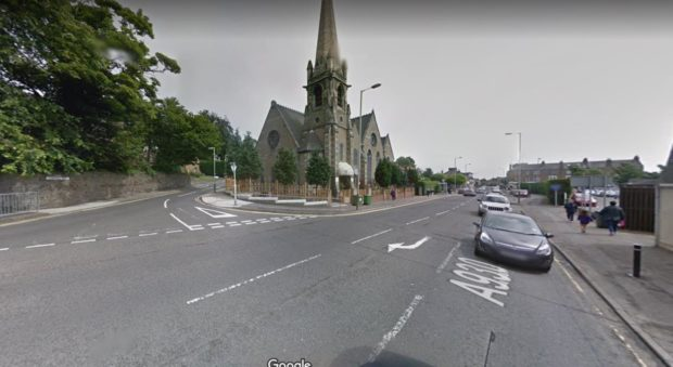 Broughty Ferry crash