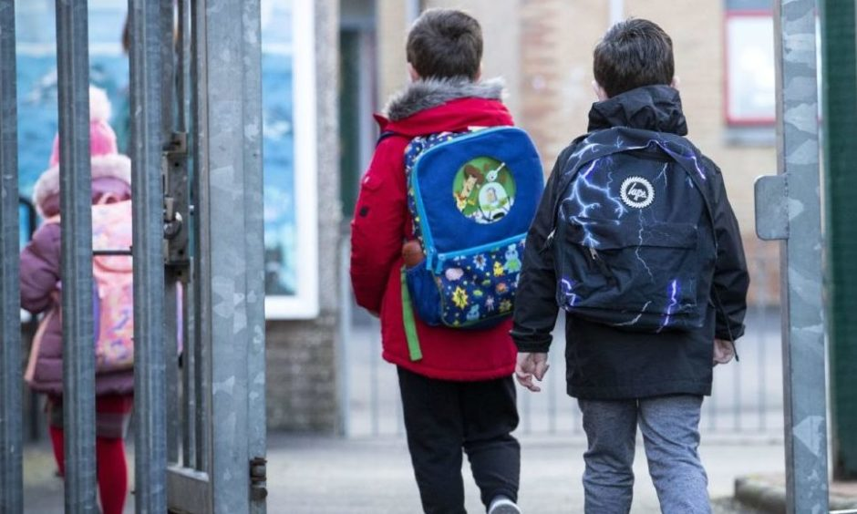 Figures show 488 pupils were off school on Tuesday because of Covid-19.