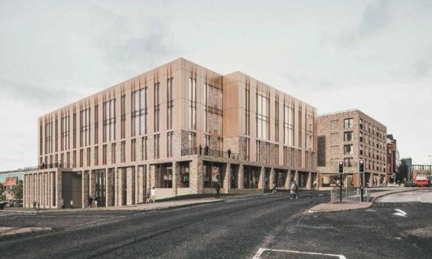 Greenmarket planning application Dundee