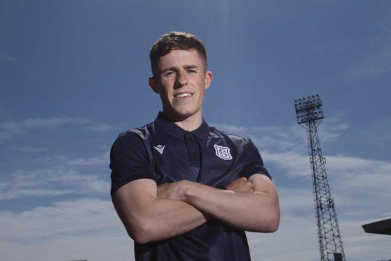 Luke McCowan has signed up at Dens Park.