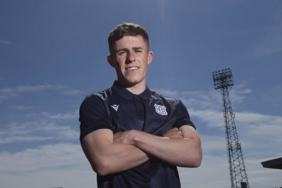 Luke McCowan signed a two-year deal at Dens Park.