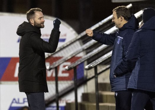 James McPake and Dave Mackay have led Dundee back to the Premiership.