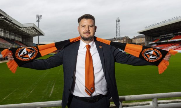 New Dundee United head coach Tam Courts.