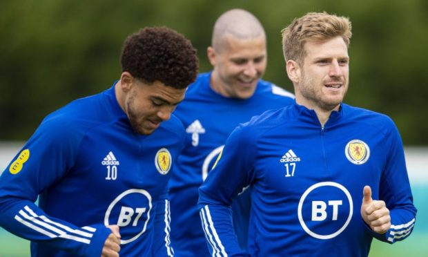 Stuart Armstrong and Che Adams could be key men.
