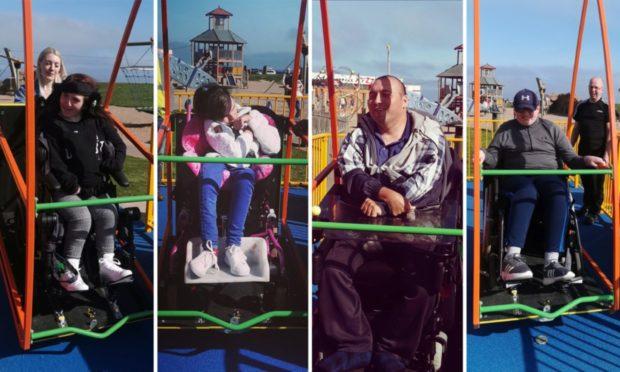 wheelchair swing arbroath