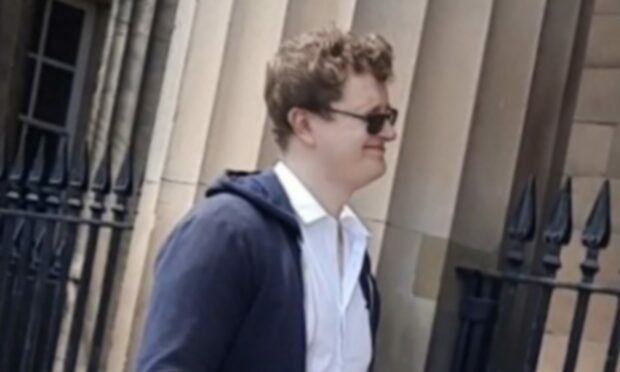 Cameron Anderson at Perth Sheriff Court