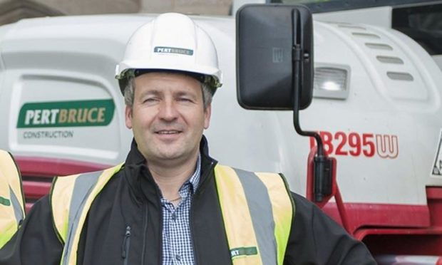 Craig Bruce, managing director of Pert Bruce.